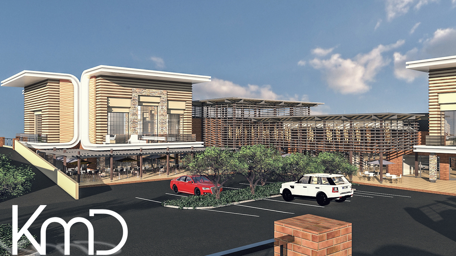 Rendering Mall Redesign South Africa Johannesburg