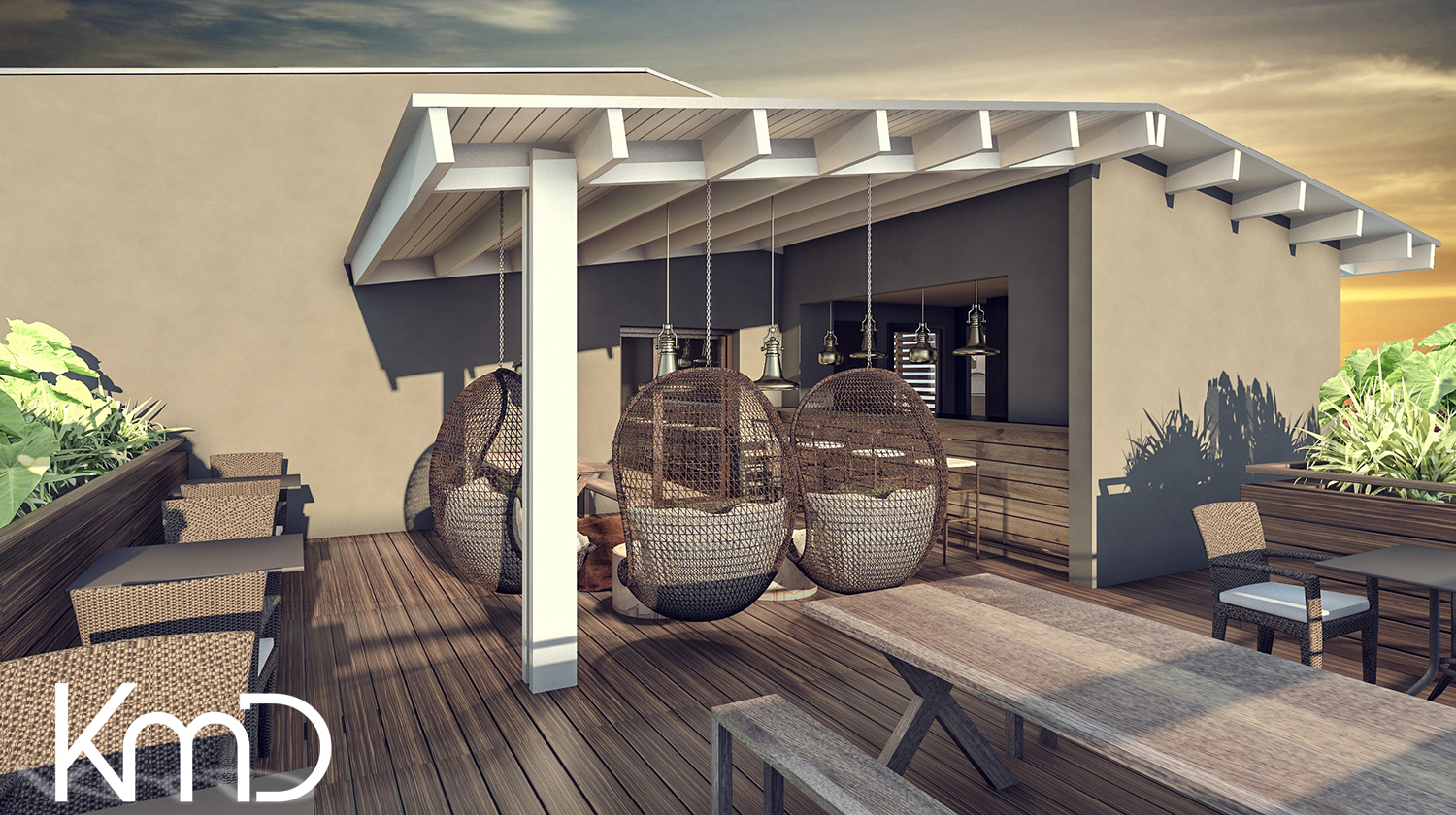 3D Rendering hotel south africa durban cape town johannesburg