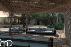 Rendering bush lodge south africa durban cape town johannesburg