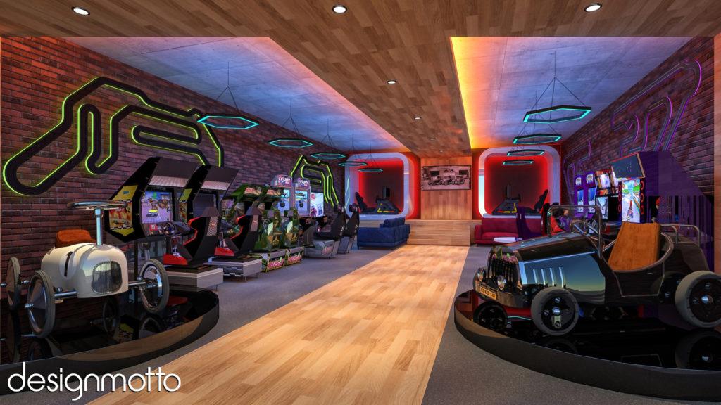 3D Rendering - Arcade Concept - Cpt